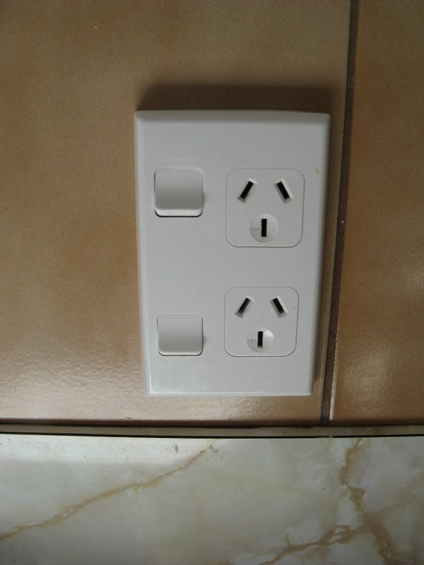 New Zealand electrical outlet