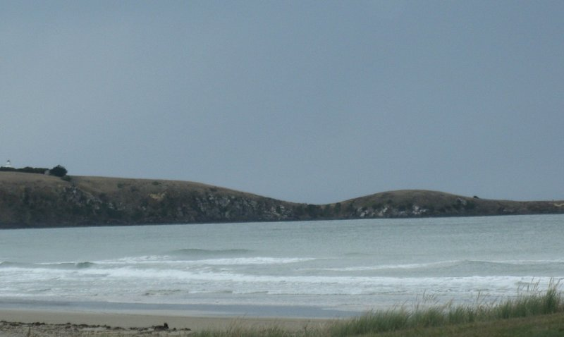 Pacific coast of South Island of NZ near Oamaru