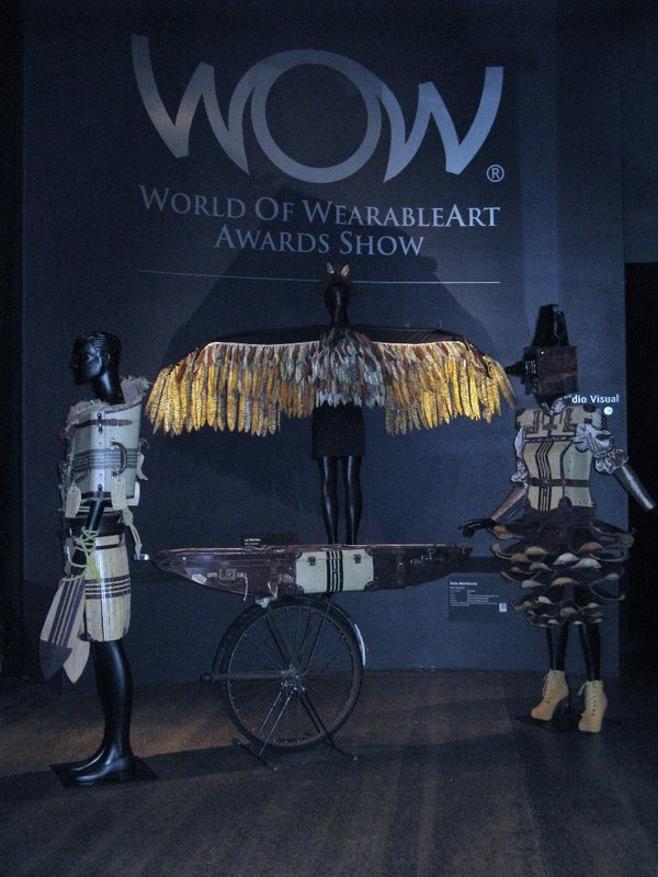 Dramatic entrance to Wearable Art Museum