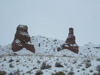 IMG_2665 Rock formations in the snow
