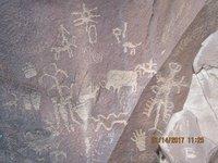 IMG_2744 Close-up of rock art