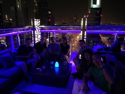 At the Skybar
