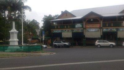 Nimbin Youth Hostel, no idea why I took that photo