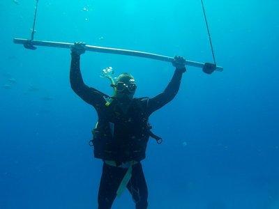 Underwater Pull-ups