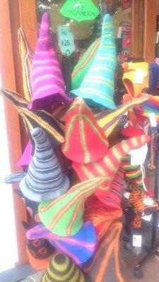 Funny hats in Nimbin
