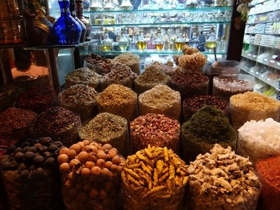 Spices at spice souk