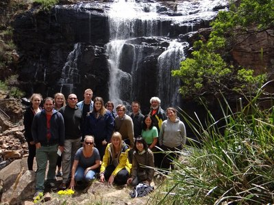 Our amazing group of the Great Ocean Road Tour
