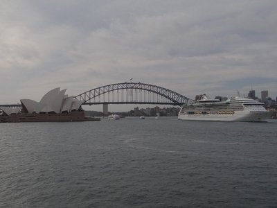 Sydney Harbor Bridge and Opera House