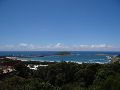 Park Beach from Coffs Lockout