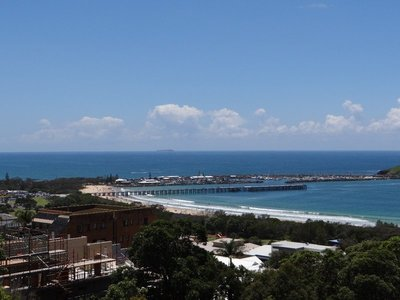 View over the harbor from Coffs Lockout