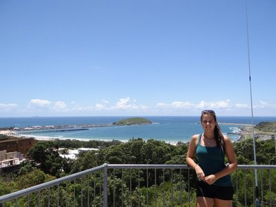 Lena's first day in Coffs Harbour