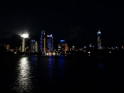 Surfers Paradise Skyline at Night