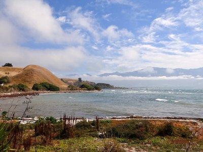 View on Kaikoura's Mountains