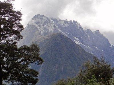 Mountains surround us