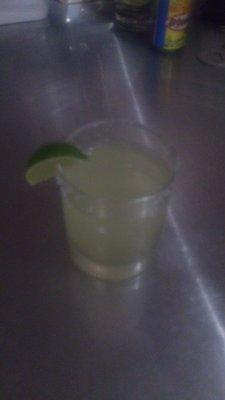 Lime's Classic Margarita