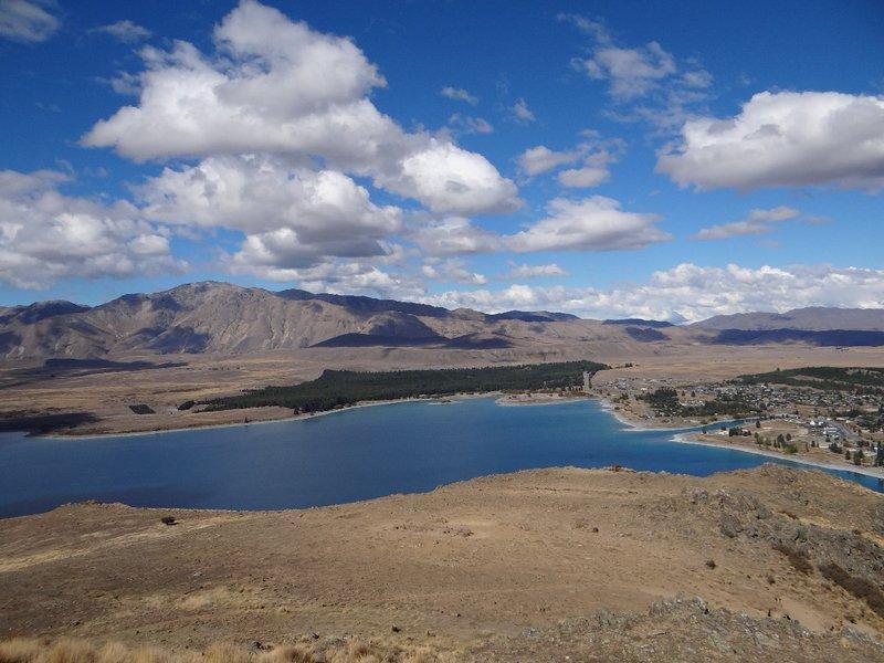 Lake Tekapo and Tekapo Town