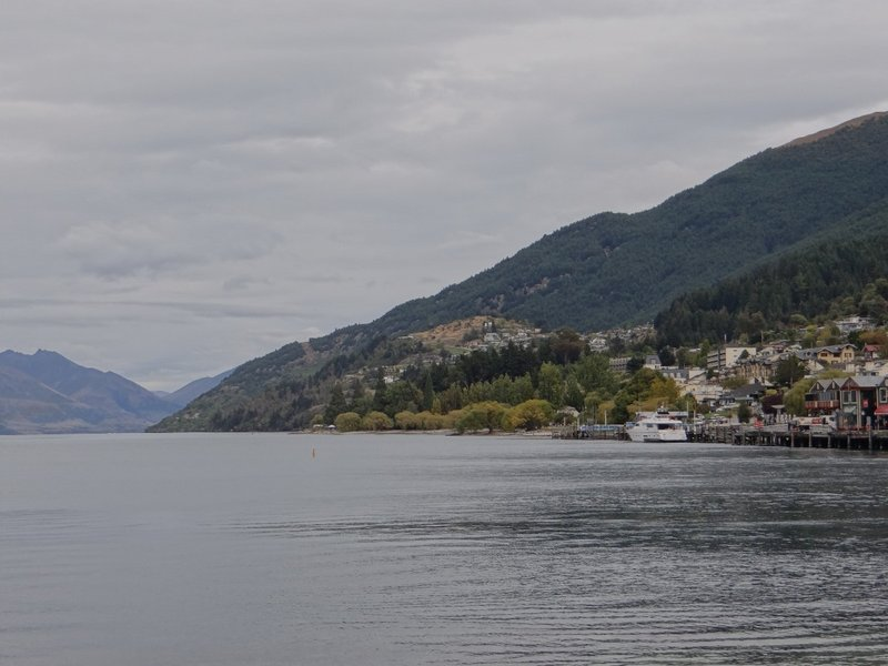 Lake Wakatipu and Queenstown's Fernhill