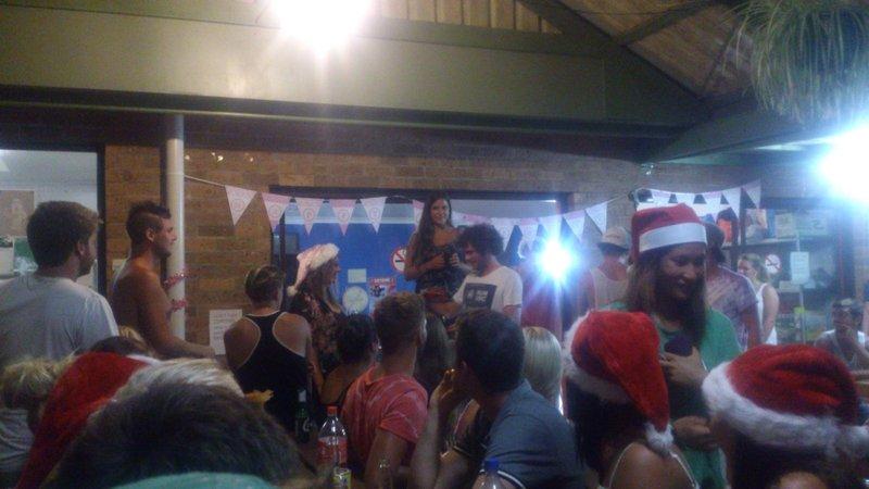 Our secret Santa at Aussitel