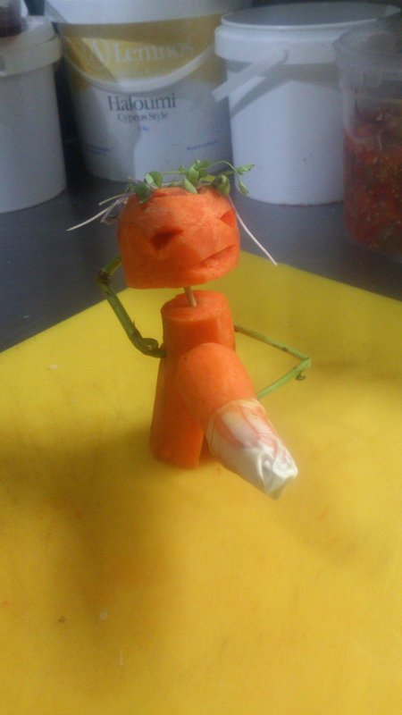 Little carrot man