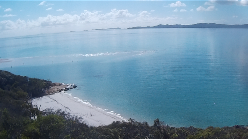 Whithaven Beach from Lookout