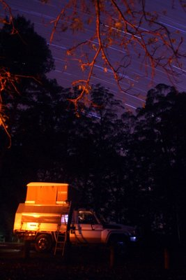 Camping at Dingo Tops