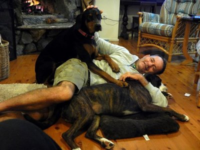 Chris & dogs