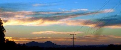 Mansfield sunset