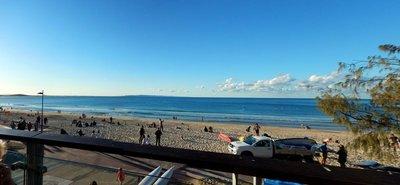 Noosa Surf Club beach panoramic
