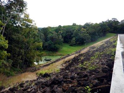 Rocky Creek Dam Left