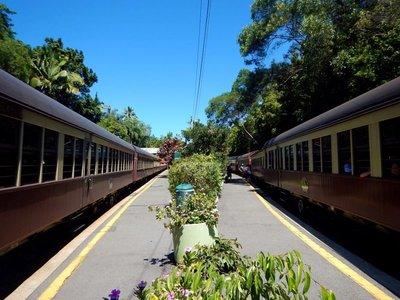 Scenic Railway Platform trains