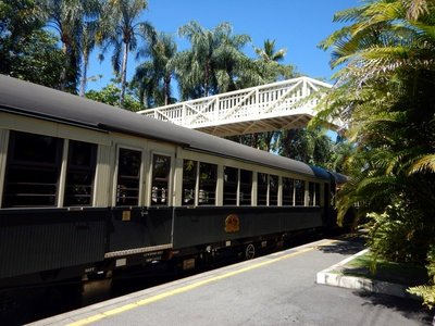 Scenic Railway Platform train bridge