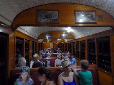 Scenic Railway inside tunnel