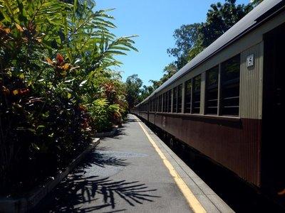 Scenic Railway Platform train