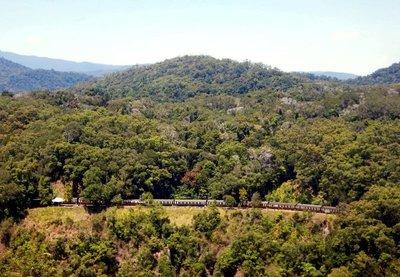 Scenic Railway in gorge