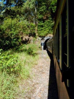 Scenic Railway tunnel