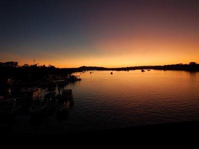 Sunset bar sunset