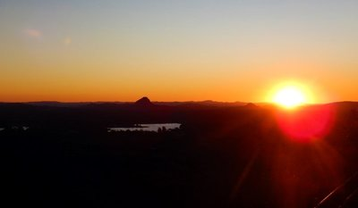 Sunset from Timberwah to Mt Cooroy1