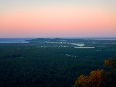 Sunset from Timberwah over Noosa