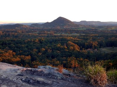 Sunset from Timberwah Mt Cooroy