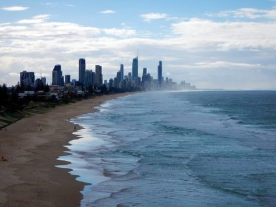 Surfers Paradise from Mick Schamburg Park