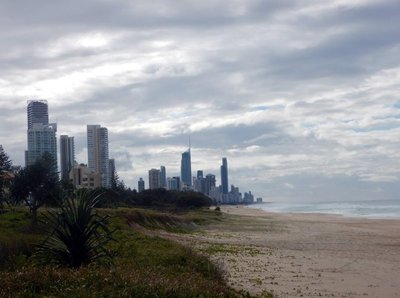 Surfers Paradise from Mermaid Beach