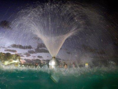 lagoon fountain