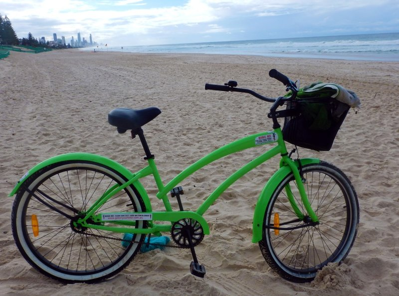 Beach Cruiser on Nobby Beach