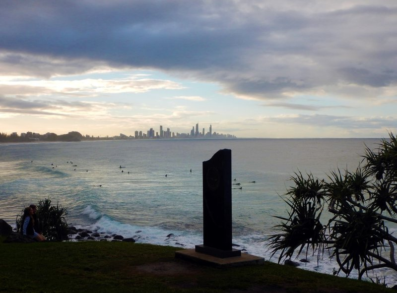 Burleigh Head Monument
