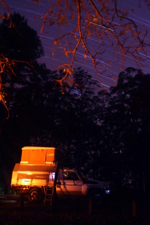 Camping at Dingo Tops