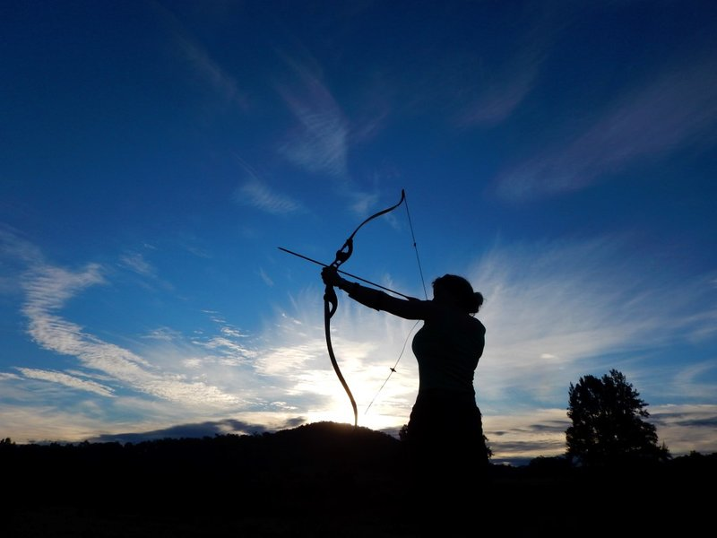 Charlotte's Alter Ego Shooting Arrows