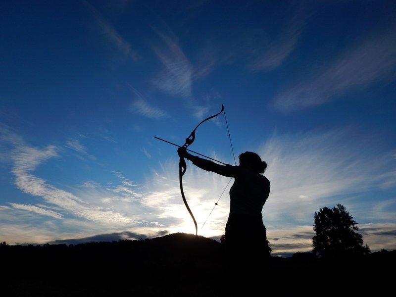 Charlotte Shooting Arrows