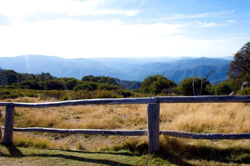 Craigs Hut View fence