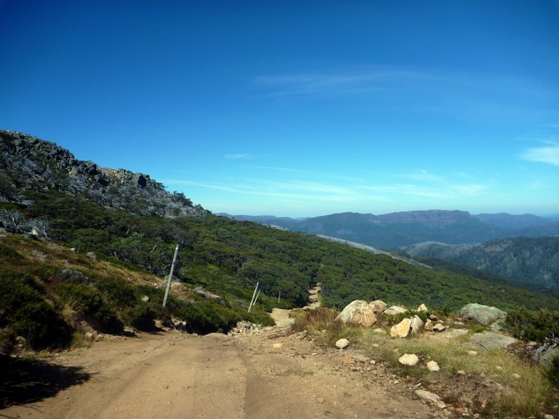 Mt Stirling mountain biking