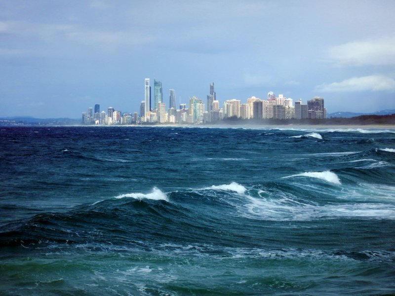 Surfers Paradise from The Spit